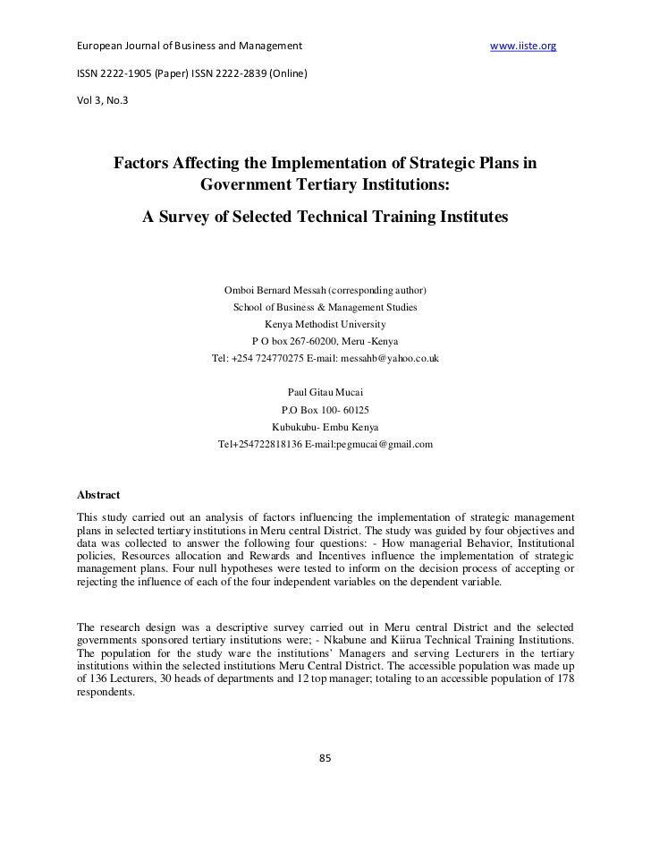 European Journal of Business and Management                                               www.iiste.orgISSN 2222-1905 (Pap...