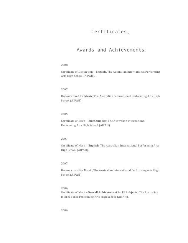 Resume Kate 2014