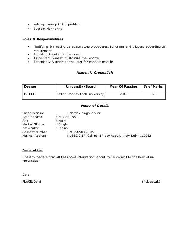 sap basis 2 5 yr exp  resume