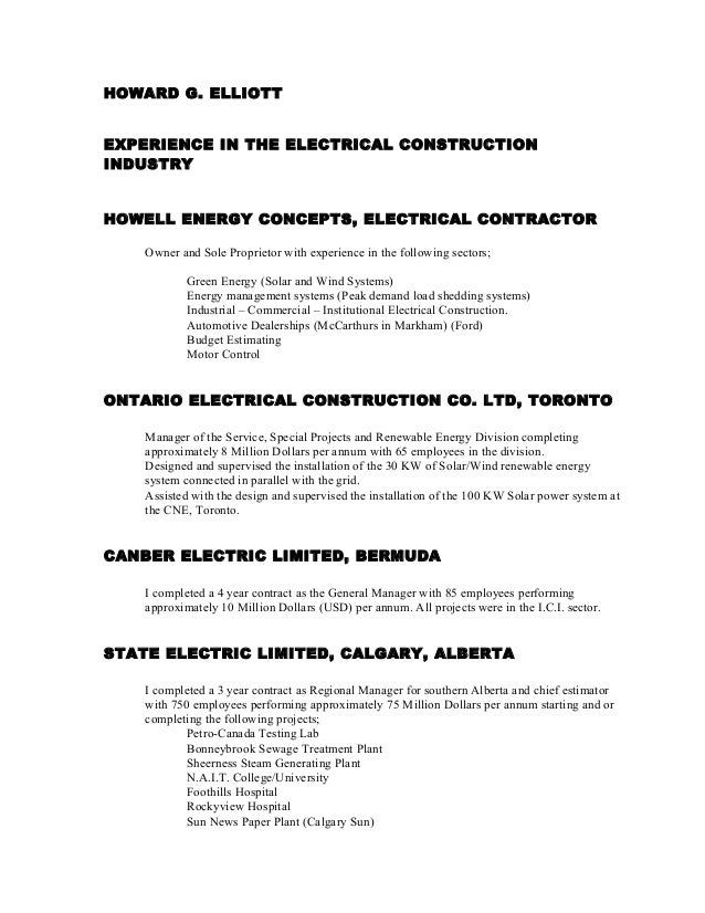 HGE Pg # 2 Resume 2-1 R6