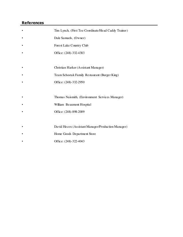 Kine 366 Resume Rough Draft