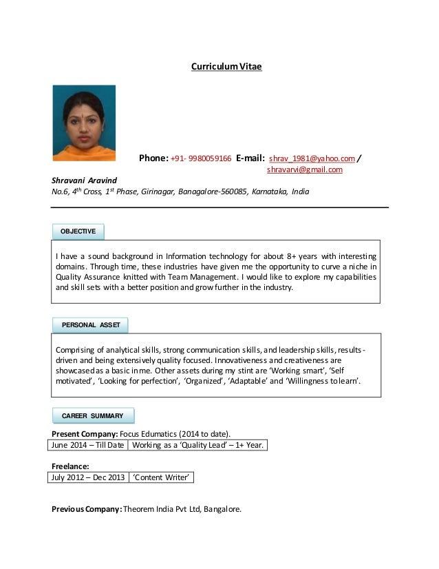 shravani resume v 0 1 rh slideshare net  edumatics corporation note taking guide answers