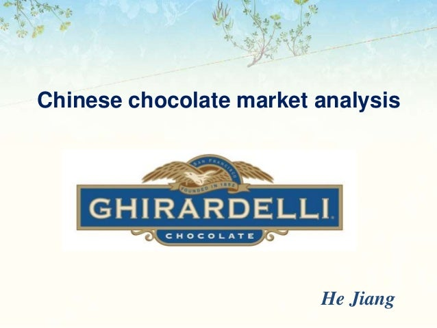 Chocolate market research essay