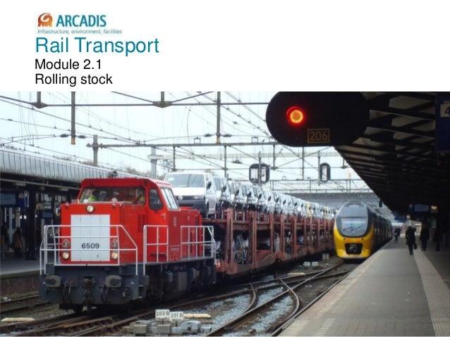 V2010-1 Rail Transport Module 2.1 Rolling stock
