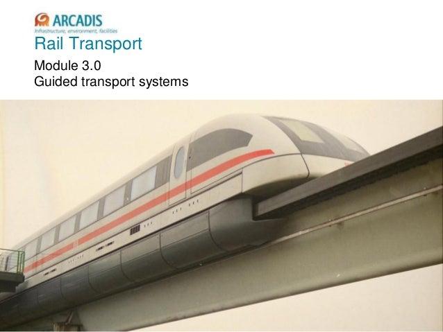 V2010-1 Rail Transport Module 3.0 Guided transport systems