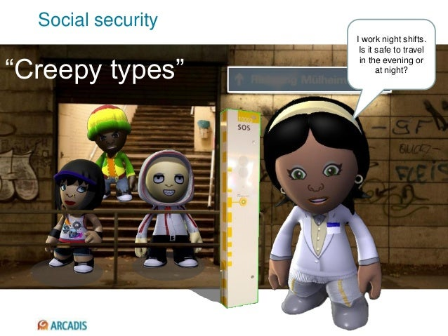 """""""Creepy types"""" I work night shifts. Is it safe to travel in the evening or at night? Social security"""