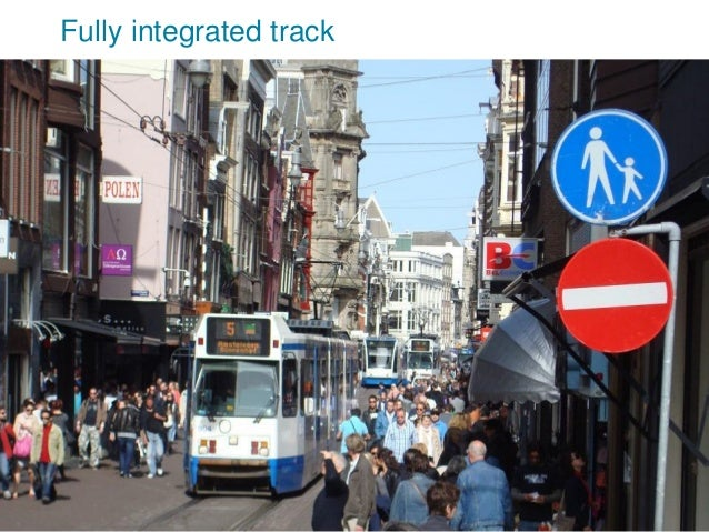 Fully integrated track