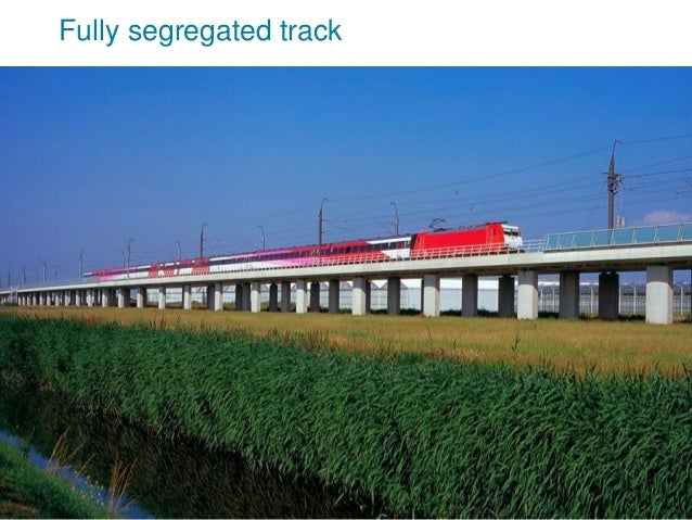 Fully segregated track