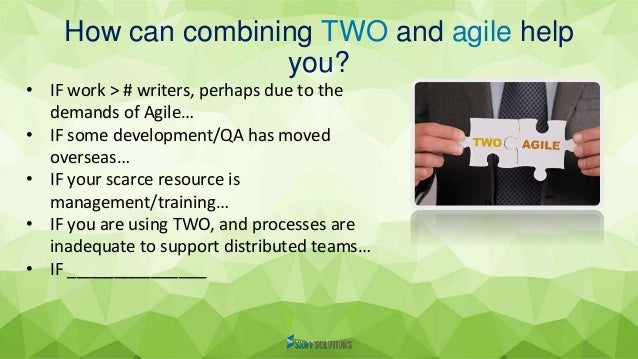 Technical writing and documentation in an Agile environment