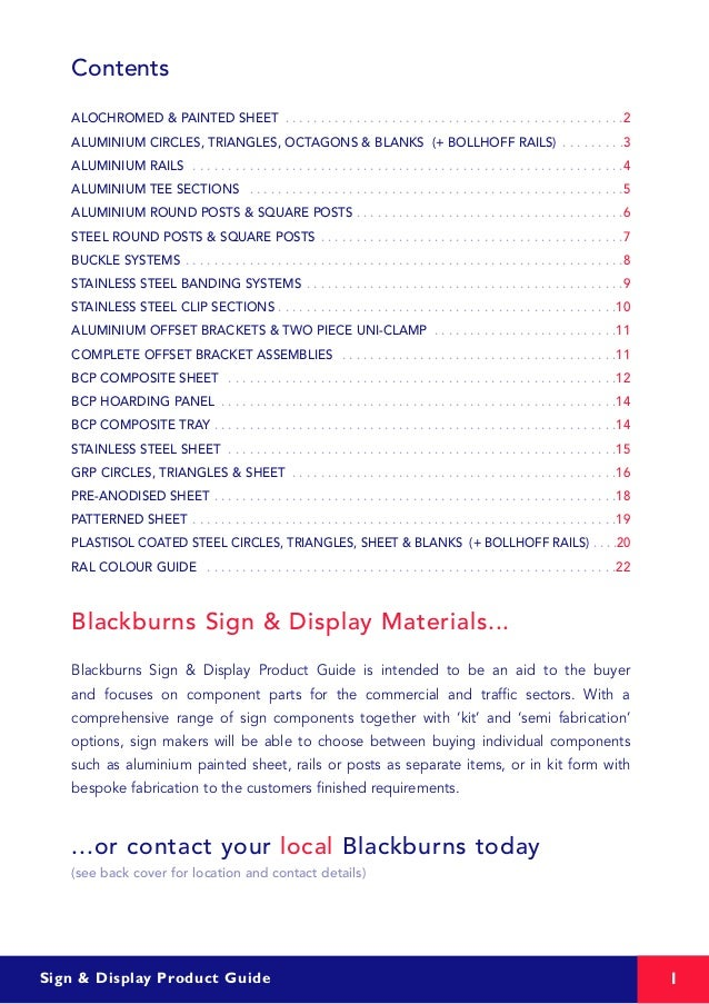 Signproducts Brochure