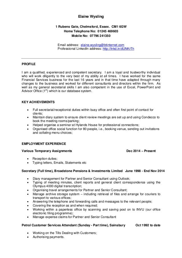 Environmental Science Resume Objective Images - resume format ...