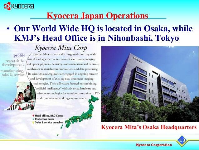 01 Presentation Kyocera