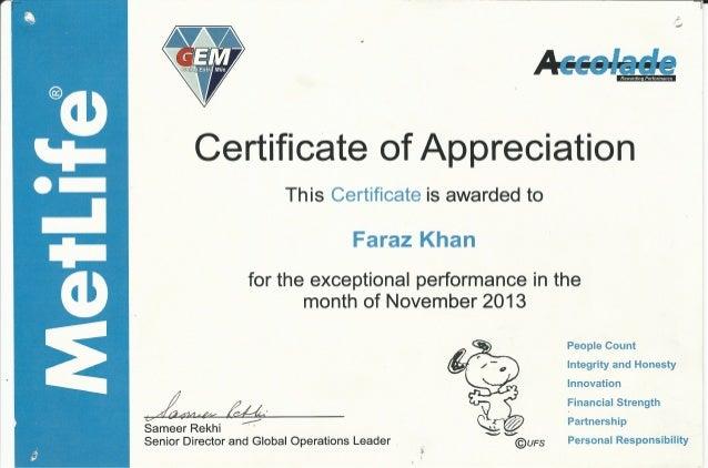 Of appreciation 2 certificate of appreciation 2 yadclub Images