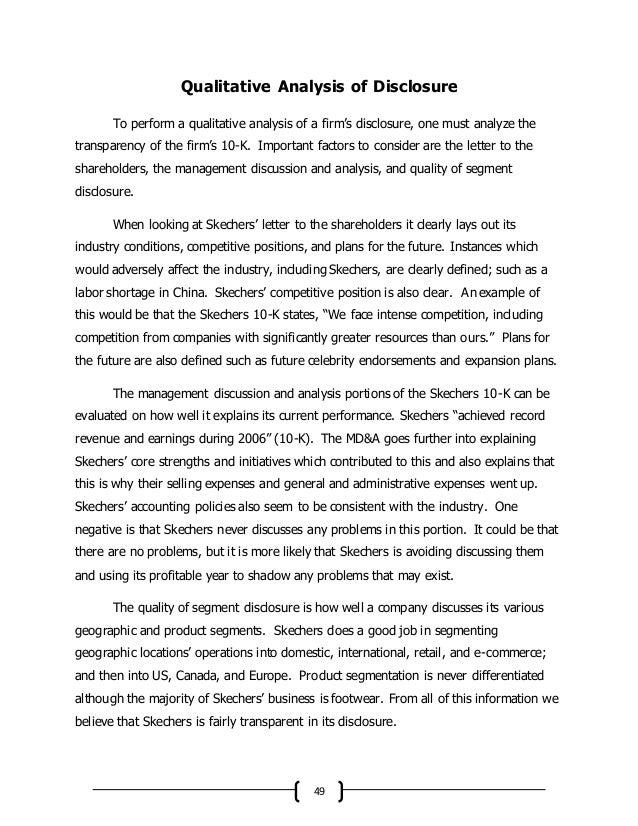 skechers mission statement