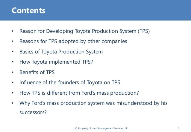 toyota production system review While much has been written about toyota motor corp's production system, little has captured the way the company manages people to achieve operational learning.