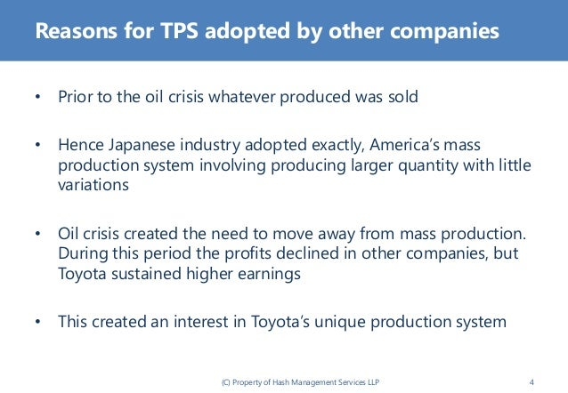 toyota production system review An introduction toyota production system – beyond large scale production by  taichii ohno.