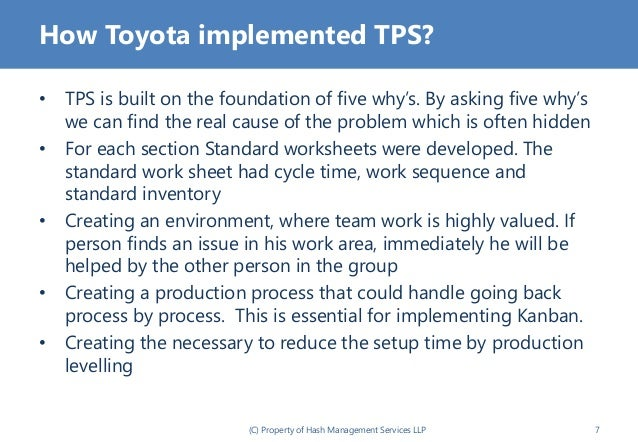 toyota production system review The toyota production system is continuously improved to achieve better  performance the system evolves  most helpful customer reviews.