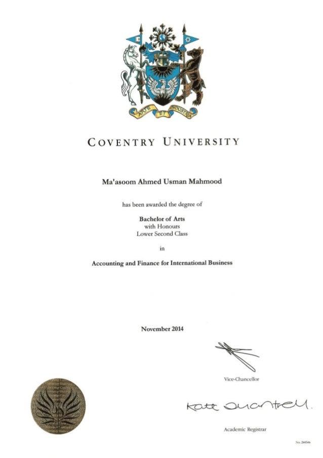BA(Honours) COV (2)