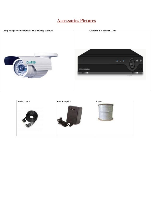 8 Camera Cctv Quotation Bangladesh