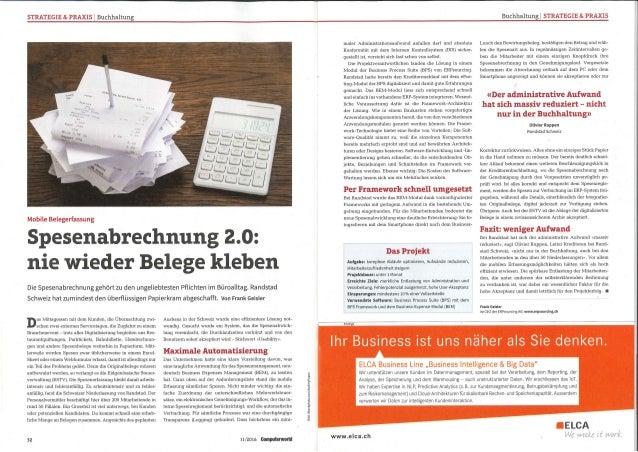 STRATEGIE & PRAXIS   Buchhaltung Buchhaltung   STRATEGIE & PRAXIS Mobile Belegerfassung Spesenabrechnung 2.0: nie wieder B...