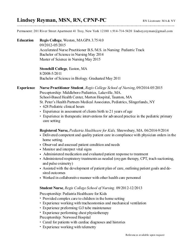 Click Above To Save Family Nurse Practitioner Resume Example Page Yangi  Family Nurse Practitioner Resume
