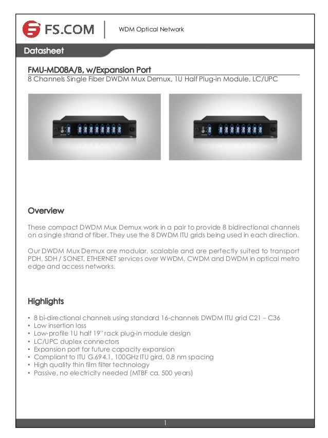 8 channels single fiber dwdm mux demux,lc/upc.