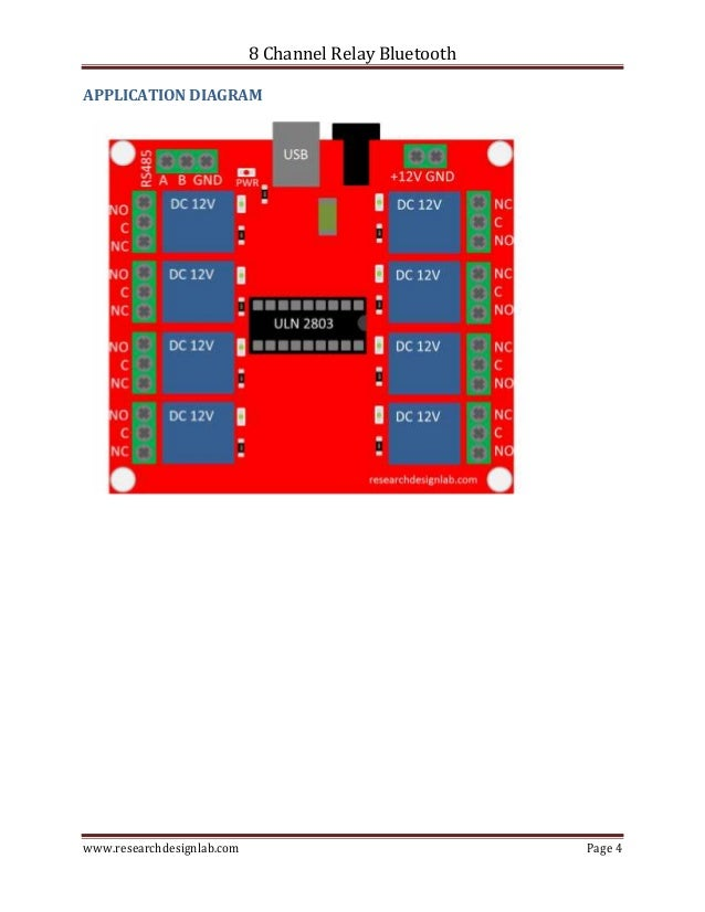 8 channel relay board pdf