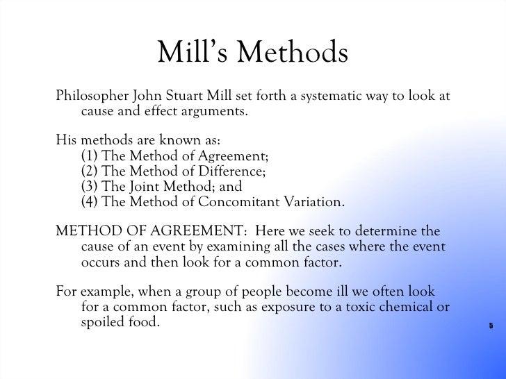 Method Of Agreement Example