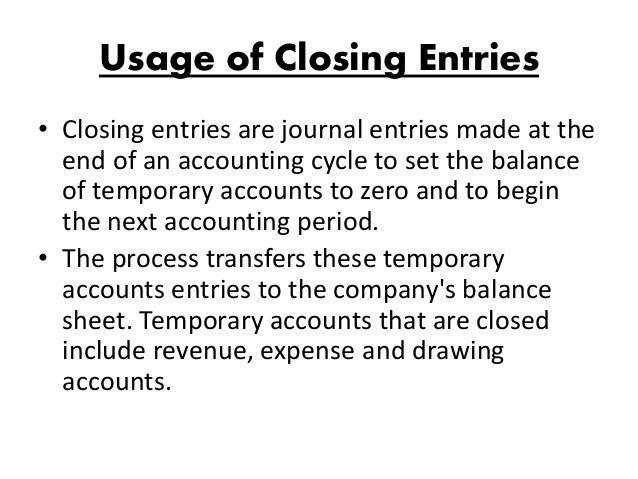 Closing Entry Worksheet : Column worksheet closing entries by mubashir hassan