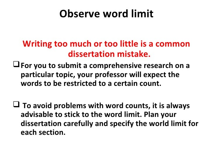 dissertations with mistakes