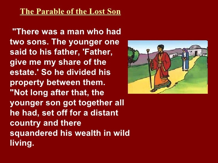 parable of the prodigal son moral lesson