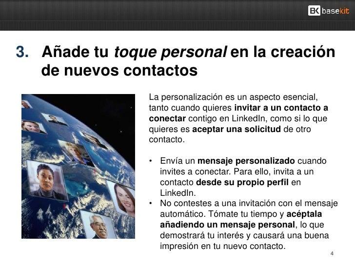 3. Añade tu toque personal en la creación   de nuevos contactos                 La personalización es un aspecto esencial,...