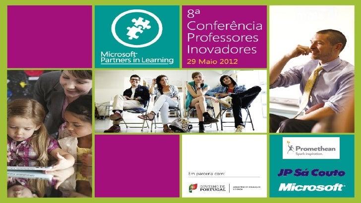 A tecnologia ao serviço da Qualidade(Seminário Windows in Classroom para Diretores de Escola)Hugo Caldeirahcaldeira@anothe...