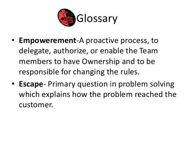 D Problem Solving Process  Disciplined   Step Process   D Quality
