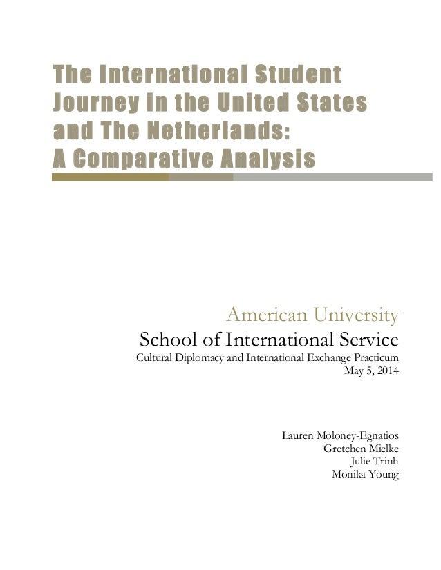 American University School Of International Service