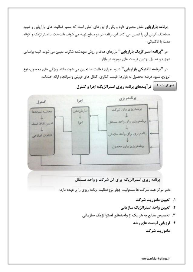 www.eMarketing.ir برنامهبازاریابیشیوه و بازاریابی های فعالیت مسیر که است اصلی ابزارهای از یکی ...