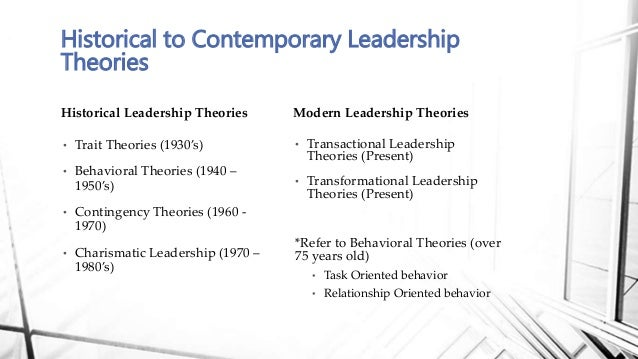 Strengths & Weaknesses of Contemporary Leadership