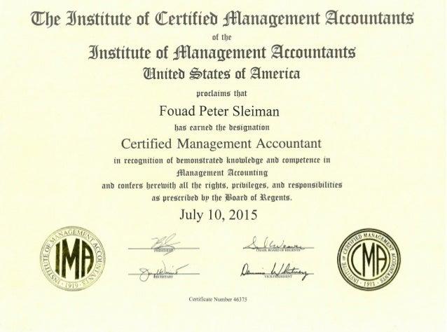 """Kết quả hình ảnh cho Certificated Management Accountant"""""""