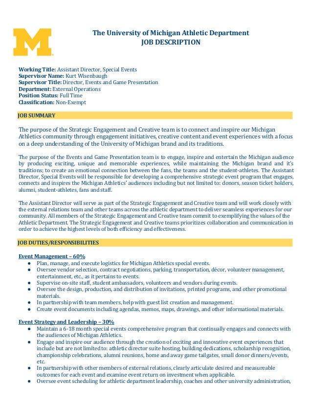 AssistantdirectorspecialeventsAt
