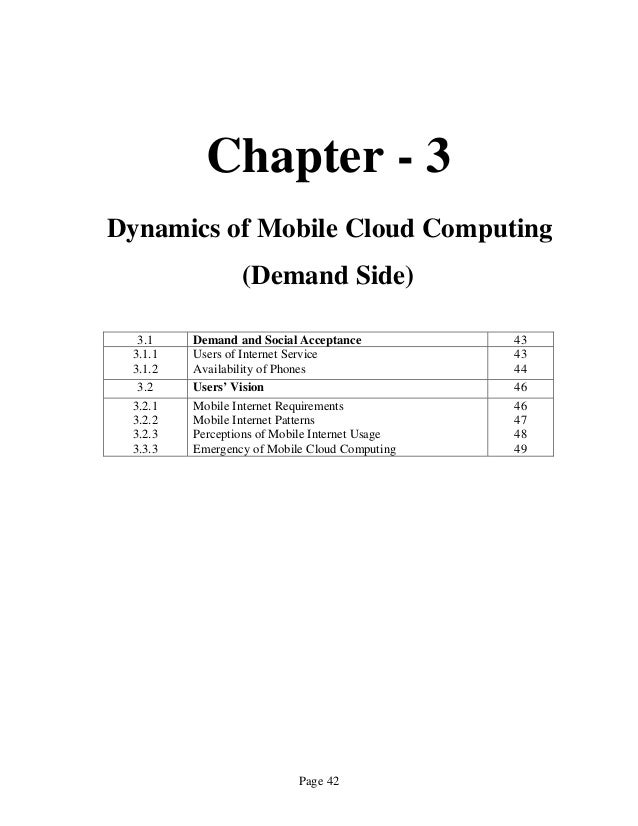 Term paper report on prospects of mobile cloud computing 42 fandeluxe Image collections