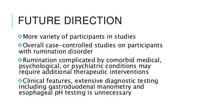 Rumination Disorder Presentation 2 2