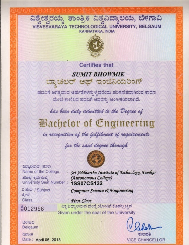 Vtu degree certificate sample image collections certificate vtu degree certificate sample thank you for visiting yadclub nowadays were excited to declare that we have discovered an incredibly interesting topic to yadclub Gallery