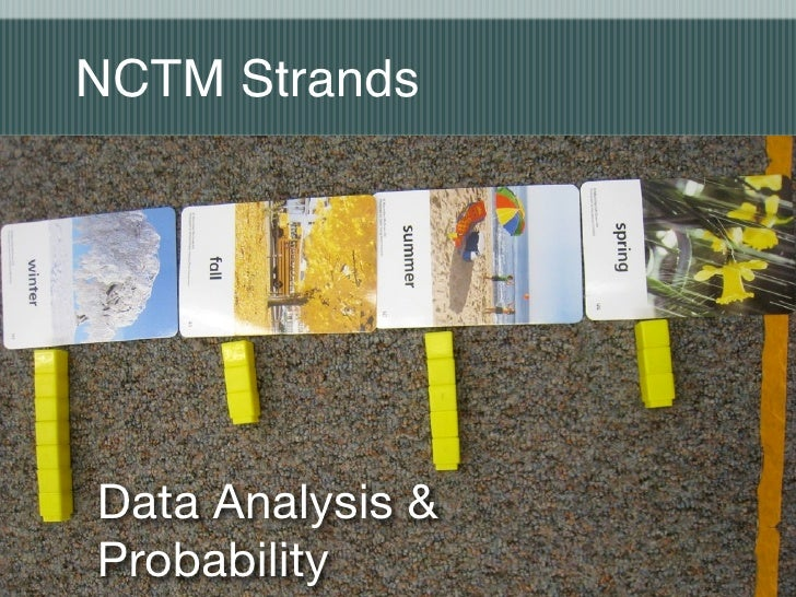 NCTM Strands     Data Analysis & Probability