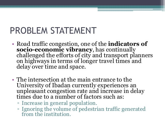 traffic congestion on highways in nigeria Congestion on-street parking constitutes one major problem that makes traffic  situation chaotic in nigeria cities most roads in nigeria cities are narrow and lack .