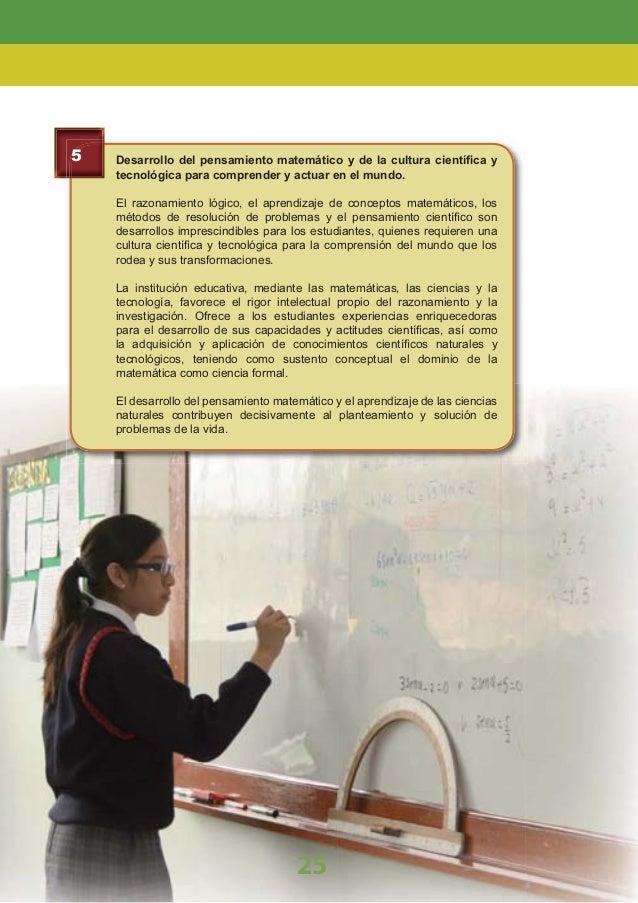 Dominio de las Tecnologías de la Información y Comunicación (TIC). Se busca desarrollar en los estudiantes capacidades y a...