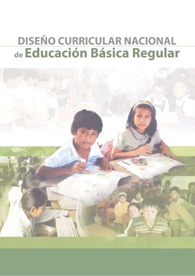 Hoy el Perú reclama un Diseño Curricular Nacional (DCN) inclusivo, significativo, que responda a la diversidad socio cultur...