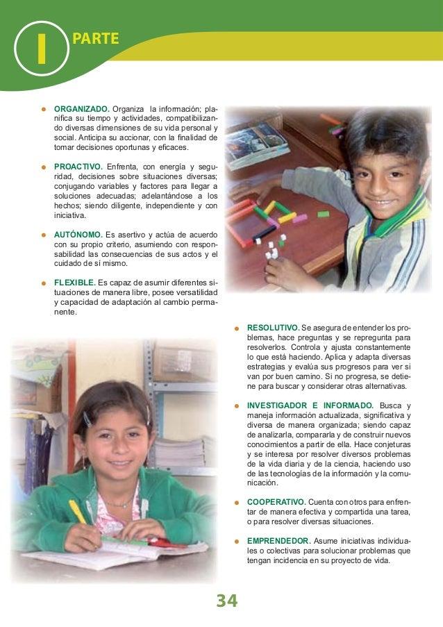 LINEAMIENTOS NACIONALES la existencia de otras áreas que contribuyen a la formación del estudiante desde una mirada integr...