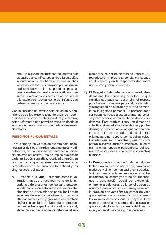 PARTE II 4 PLAN DE ESTUDIOS La EBR debe dar cuenta del proceso educativo durante los siete ciclos de vida escolar, para el...
