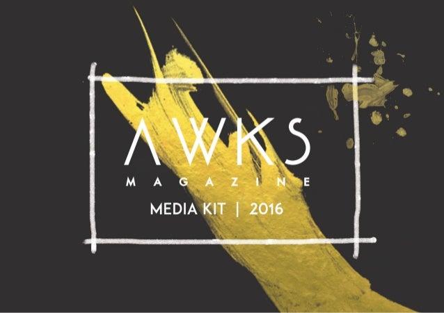 Awks Magazine adalah majalah indie, terbit setiap bulannya menampilkan individu yang kreatif, komunitas dan organisasi yan...