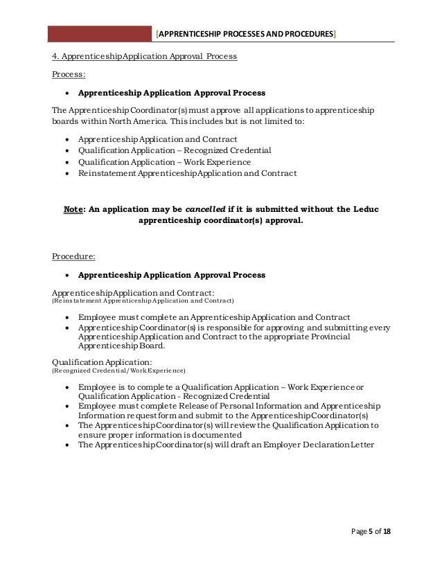 Apprenticeship Procedures Information Package Rev 12